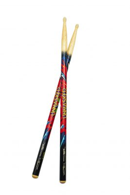 "Eric Carr signature ""Unmarked"" Sticks"