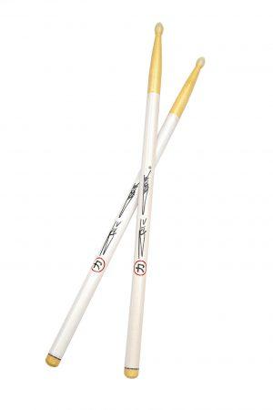 Eric Carr Signature White Sticks
