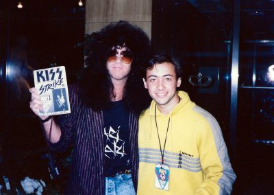 Eric Carr with Fan Nicole