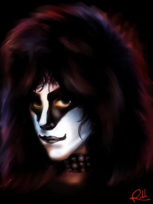 Eric Carr Fan art by Ranold