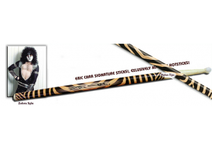 "Eric Carr Signature Sticks ""Zebra"""