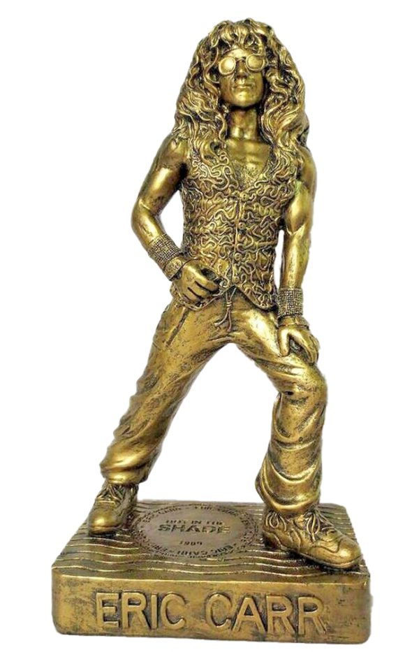 """Eric Carr """"Hot in the Shade"""" Color Gold"""