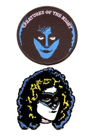 Eric Carr Iron on patches
