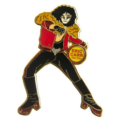 Eric Carr The FOX pin