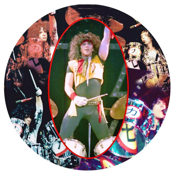 Eric Carr Live On Drums