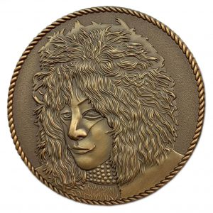 Bronze Collectible Coin