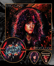 Eric Carr Pictur Disk Button