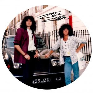 Bruce and Eric Carr Drumhead