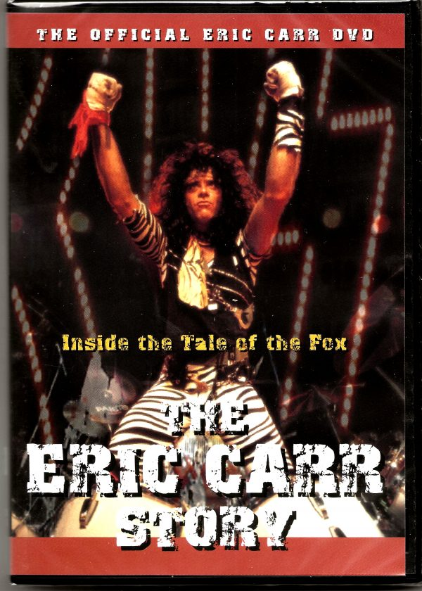 Eric Carr Bio DVD