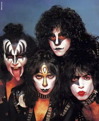 Eric Carr Kiss Band Photo